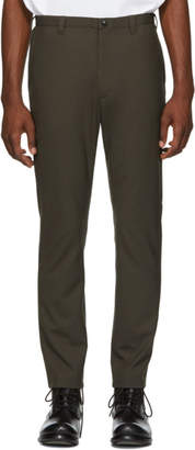 N.Hoolywood Brown Classic Trousers