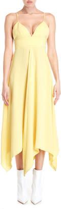 Moschino Handkerchief Hem Midi Dress