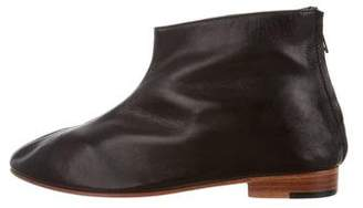 Martiniano Round-Toe Ankle Boots