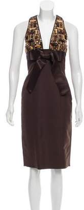 DSQUARED2 Embellished Midi Dress