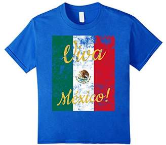 Mexican Flag T-Shirt. Big Mexican Flag Tee
