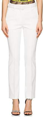 Off-White Women's Belted High-Waist Cigarette Trousers