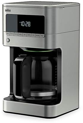 Braun BrewSense 12-Cup Drip Coffee Maker with Glass Carafe