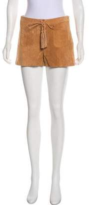 Intermix Suede Mini Shorts w/ Tags