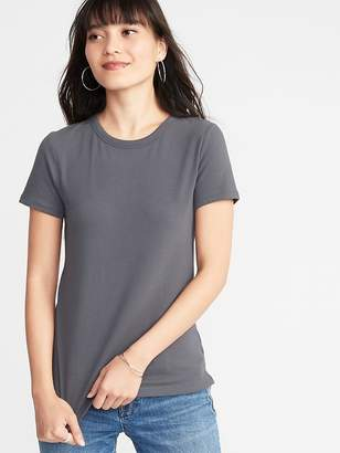Old Navy Slim-Fit Brushed Jersey Tee for Women