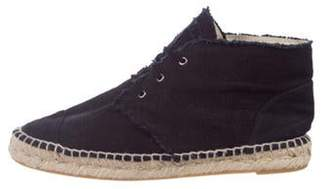 Chanel Canvas Espadrille Sneakers Navy Canvas Espadrille Sneakers