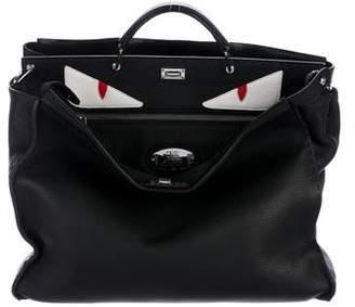 Fendi Pre-owned - Peekaboo leather pouch bag QDUYBHYfX