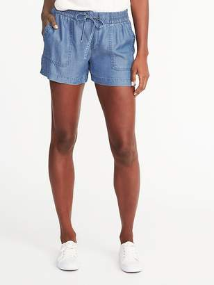 Old Navy Soft Tencel® Utility Shorts for Women