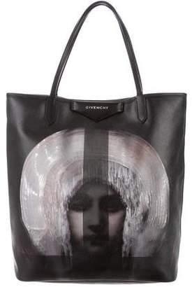 Givenchy Antigona Madonna-Print Large Shopper Bag