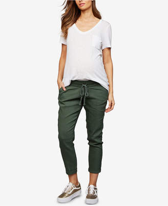 A Pea in the Pod Maternity Chambray Jogger Pants