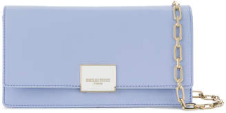 Emilio Pucci logo plaque clutch bag