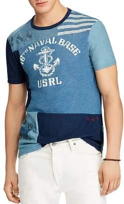 Polo Ralph Lauren Nautical Graphic Custom Slim Fit Tee