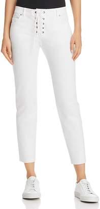 Rebecca Minkoff Jalanda Lace-Up Cropped Pants
