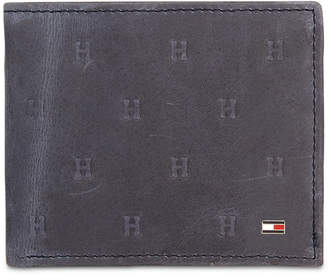 cd4ccc5dbf Tommy Hilfiger Tommy Hilifiger Men Vaughn Leather Passcase Wallet