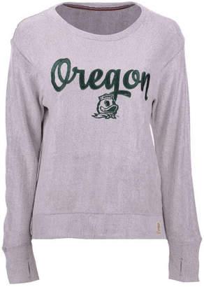 Pressbox Women Oregon Ducks Cuddle Knit Sweatshirt