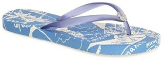 Women's Tommy Bahama 'Whykiki' Floral Print Flip Flop $28 thestylecure.com
