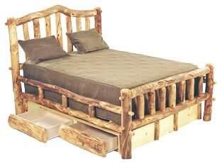 Mountain Woods Furniture Aspen Heirloom Storage Bed Mountain Woods Furniture