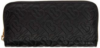 Burberry Black Ellerby Continental Wallet