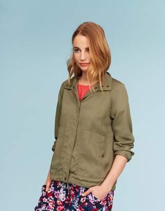 Joules SOFT KHAKI Rikki Safari Jacket Size 10