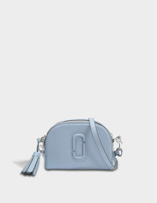 Marc Jacobs Shutter Crossbody Bag in Light Blue Cow Leather