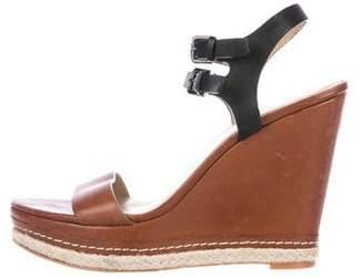 Saks Fifth Avenue Platform Wedge Sandals