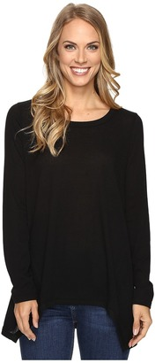 Nally & Millie Long Sleeve Ribbed Sweater $76 thestylecure.com