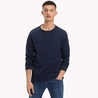 Tommy Hilfiger Buttoned Long Sleeve Top