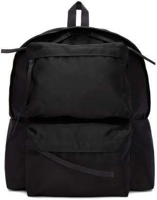 Diet Butcher Slim Skin Black Double Pocket Backpack
