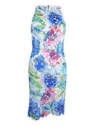 Betsey Johnson Women's Printed Lace Sheath Dress