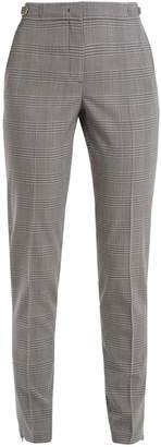 GABRIELA HEARST Lisa slim-leg checked stretch-wool trousers