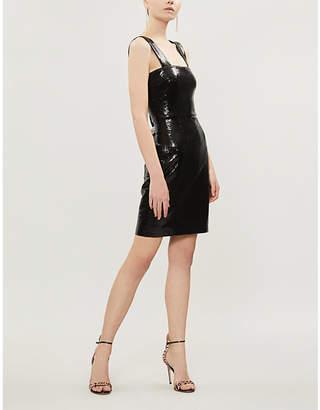 Galvan Salar sequinned mini dress