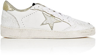 Golden Goose Women's Women's Ball Star Leather Sneakers $495 thestylecure.com