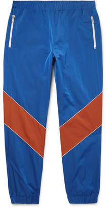 Gucci Tapered Colour-Block Shell Trousers