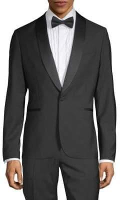 J. Lindeberg Wool Tuxedo Jacket