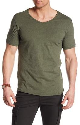 Unsimply Stitched V-Neck Short Sleeve Tee