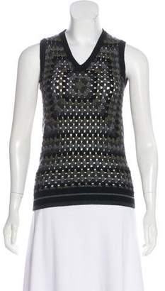 Christopher Kane Cashmere Sleeveless Sweater