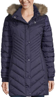 U.S. Polo Assn. Heavyweight Hooded Puffer Jacket