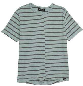 Treasure & Bond Spliced Stripe T-Shirt