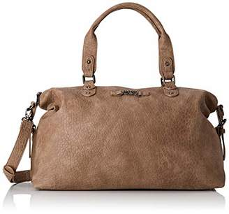 Le Temps Des Cerises Women's LTC5A4X Bowling Bag Brown