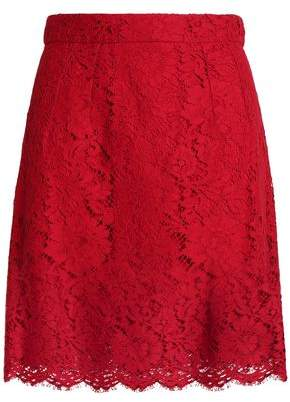 Dolce & Gabbana Corded Lace Mini Skirt