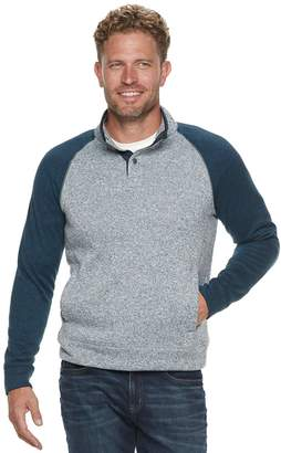 a060076378 Sonoma Goods For Life Men's SONOMA Goods for Life Supersoft Modern-Fit  Sweater Fleece Mockneck