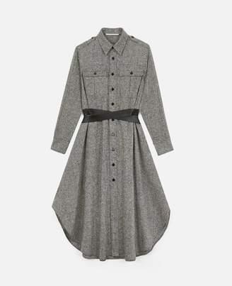 Stella McCartney Salt & Pepper Shirt Dress, Women's