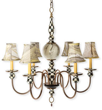 Mackenzie Childs MacKenzie-Childs Courtly Palazzo 6-Light Chandelier