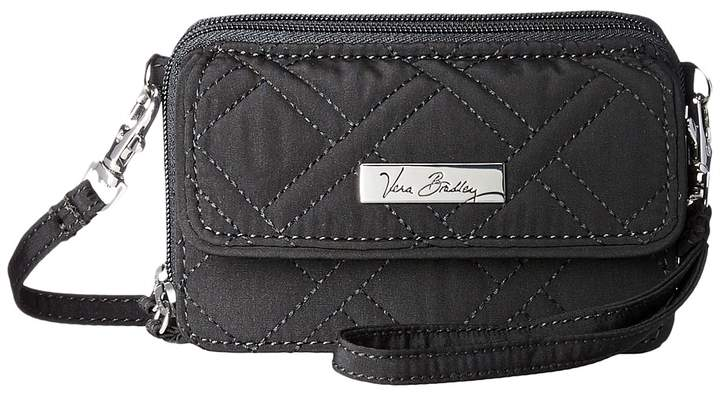 Vera Bradley All In One Crossbody Handbags - BLACK - STYLE