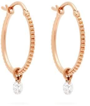 Raphaele Canot Set Free 18kt Gold & Diamond Earrings - Womens - Rose Gold