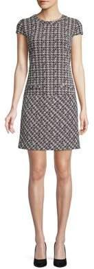 Karl Lagerfeld Paris Tweed Sheath Dress