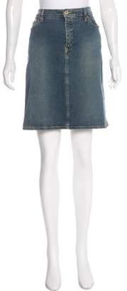 See by Chloe Denim Knee-Length Skirt