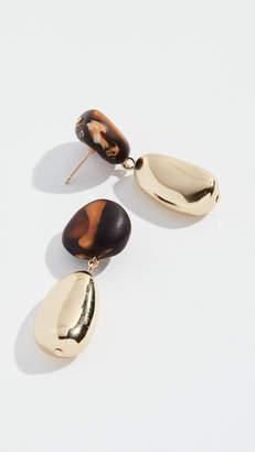 Dinosaur Designs Mineral Short Drop Earrings