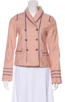 Marc Jacobs Double-Breasted Striped Jacket