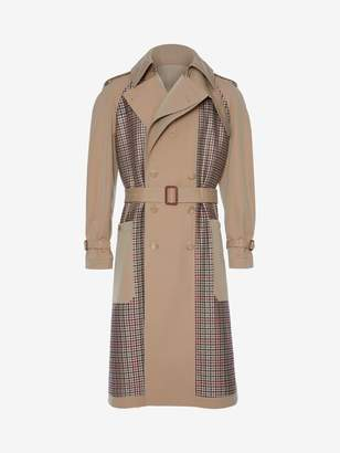Alexander McQueen Deconstructed Trench Coat